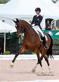 Graves and Verdades Victorious in Stillpoint Farm CDIO3* Freestyle