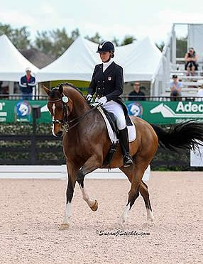 Adrienne Lyle Wins Inaugural Palm Beach Derby Class at AGDF 9