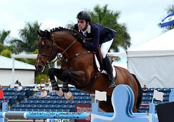 Emanuel Andrade Presented with Hermes Talented Young Rider Award