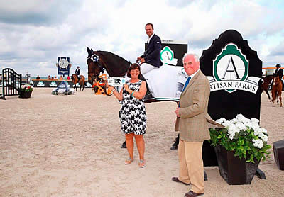 Hardin Towell Snatches Artisan Farms Trophy at Longines Global Champions Tour: Miami Beach