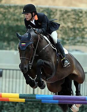 Mark Bluman and Uitteraard Collect Win in $5,000 1.45m Challenge at Tryon Spring 7