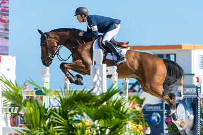 Scott Brash Back at the Top of the Longines Rankings