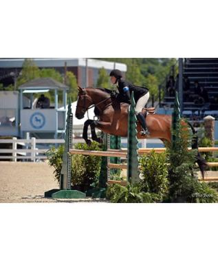 Hunter Holloway Rides Away with Ronnie Mutch Equitation Championship
