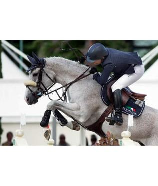 Laura Kraut and Cedric Finish CSIO 5* Rome in Top Form