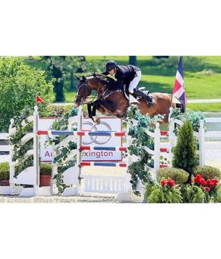 Sweetnam and Cyklon 1083 Kick Off Kentucky Classic with $34k Welcome Stake CSI3* Victory