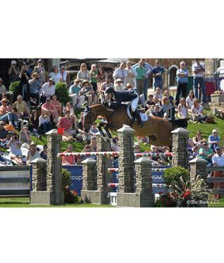 Mclain Ward and HH Azur Clean Up in $50,000 Old Salem Farm Grand Prix