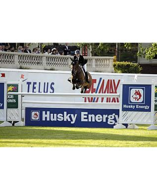 Tiffany Foster and Victor Win $85,000 Husky Energy Classic at Spruce Meadows 'Continental'
