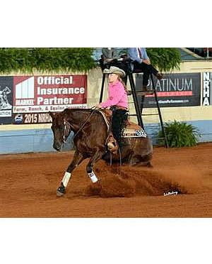 Marsh and Belden, Jr. Earn Top Honors at 2015 USEF Youth Reining National Championships