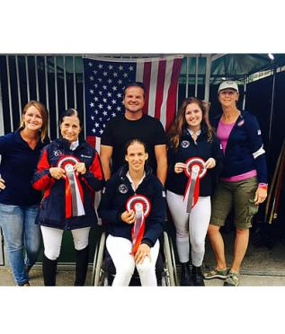 United States Para-Dressage Individuals Complete First Day of Mulhouse CPEDI3*