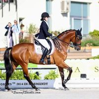 Annie Peavy at the Alltech FEI World Equestrian Games