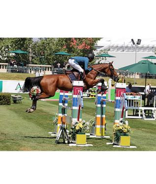 Barrios and McArdle Speed to Wins on Opening Day of Spruce Meadows 'Pan American'