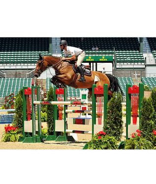 Derek Braun and Lacarolus Lead Wire-to-Wire at Kentucky Summer Horse Show