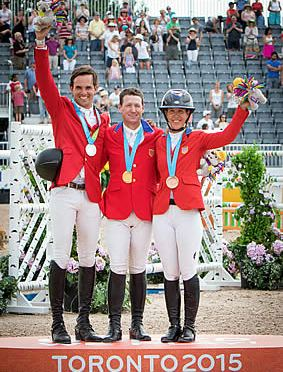 Canada Claims Team Jumping Gold; America's Ward Takes Individual Pan-Am Title