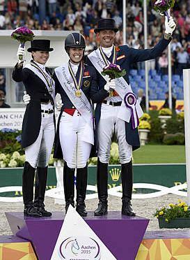 Dujardin & Valegro Win Gold, Set New European Record at 2015 FEI European Championships