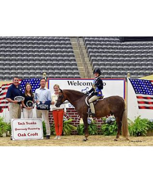Gochman Claims Gold Medal in M&S/US Pony Medal Finals to Complete 2015 US Pony Finals