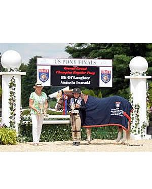Bit of Laughter Named Grand Champion at 2015 US Hunter Pony Championship