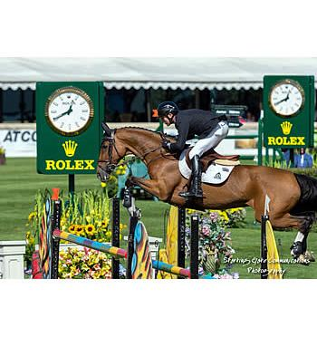 Eric Lamaze Claims Third Career Victory in ATCO Cup
