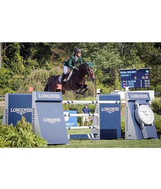 Richie Moloney and Carrabis Z Win FEI World Cup Jumping $215k American Gold Cup