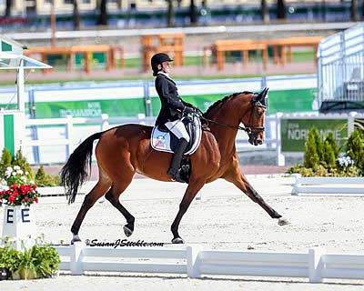 Rebecca Hart Earns 7th USEF High Performance Para-Dressage National Championship