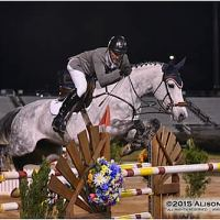 David Jennings and KM Farms' KM Corfina won Week II's $35,000 Classic Grand Prix