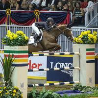 Reed Kessler riding Cylana