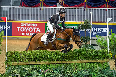 Waylon Roberts Wins Record Eighth Horseware Indoor Eventing Challenge
