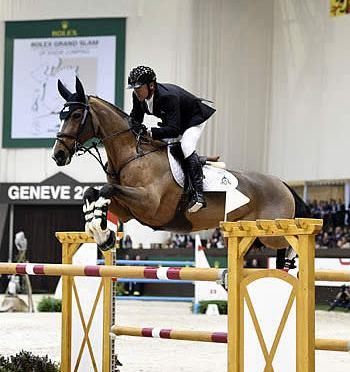 Eric Lamaze Closes 2015 Season with Top Three Finish in Geneva