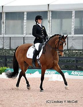 USA Para-Dressage Riders Top First Day of Competition at $10,000 CPEDI3* in Wellington
