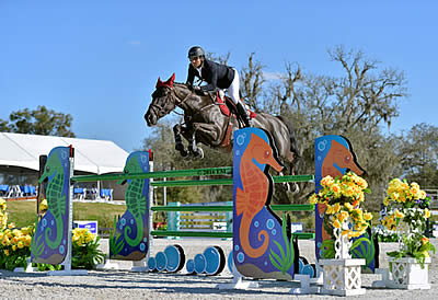 Bluman Makes Colombia Proud with $34,600 FEI HITS Jumper Classic Win at HITS Ocala