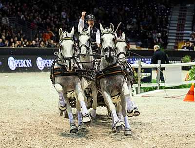 Chardon Claims FEI World Cup Driving Title