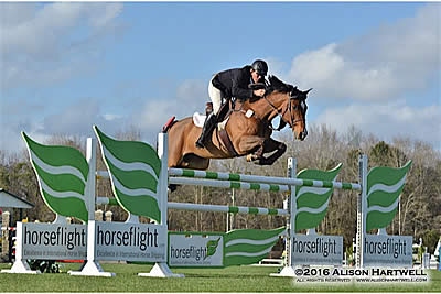 Lochnivar and Cyphert Win the $10,000 Horseflight Open Welcome