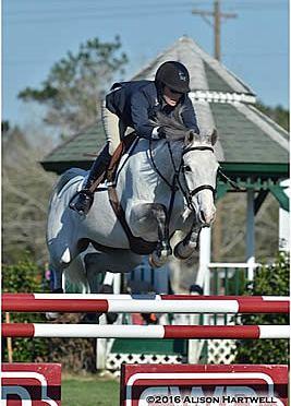 Kemper and Riptide Win the $7,770 Hester Equestrian Jumper Classic Week I