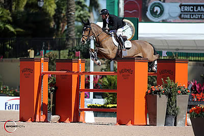 Eric Lamaze and Fine Lady 5 Win $130,000 Ruby et Violette WEF Challenge Cup Round 7