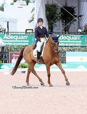 Allison Springer and Arthur Start with Early Dressage Lead in $75k Wellington Eventing Showcase