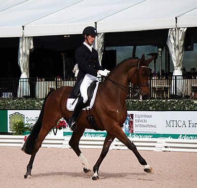 """Chris Von Martels Named """"Premier Equestrian"""" at Adequan Global Dressage Festival"""