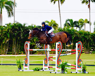 Clementine Goutal and Caballito Repeat Winning Performance in $15,000 Grand Prix
