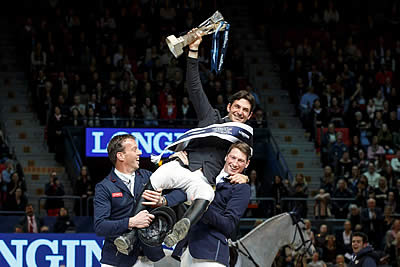 Olympic Champion Guerdat Lifts the Longines Trophy Once Again