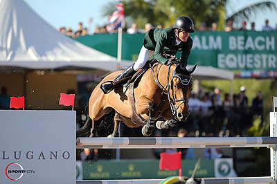 Darragh Kenny and Red Star d'Argent Win $216,000 Lugano Diamonds Grand Prix CSIO 4*
