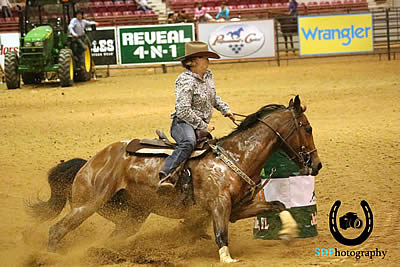 Barrel Racers Feel Some Irish Luck at Jacksonville Equestrian Center's NBHA Shamrock Showdown