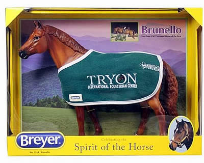 Breyer Debuts Brunello Portrait Model at Tryon International Equestrian Center