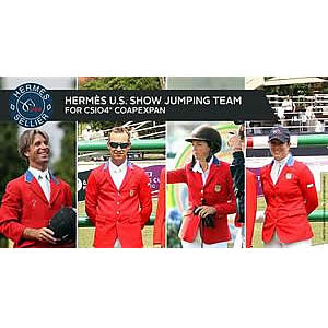 USEF Names Hermès US Show Jumping Team for CSIO4* Coapexpan