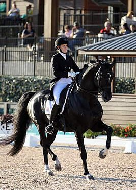 Holzer and Dressed in Black Earn Second Win in FEI Grand Prix Freestyle CDI 3*