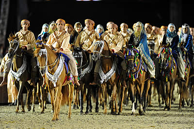 The Royal Cavalry of the Sultanate of Oman