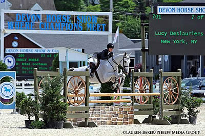 Lucy Deslauriers Claims Top Honors in R. W. Mutch Equitation Championship at Devon