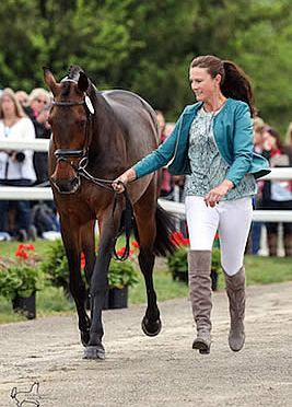 Lauren Kieffer's Veronica Named Equis Best Presented Horse at Rolex Kentucky Three-Day Event