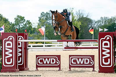 Kristen Vanderveen and Bull Run's Eternal Win $50k Commonwealth Grand Prix at Kentucky Spring