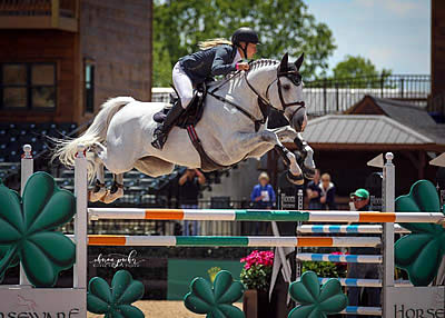 Kristen Vanderveen Wins $35k FEI 1.45m Horseware Ireland Speed Stake at Tryon
