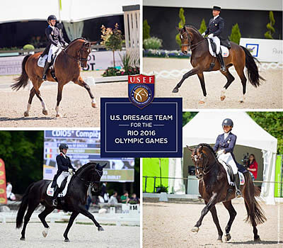USEF Names US Olympic Dressage Team for Rio 2016 Olympic Games