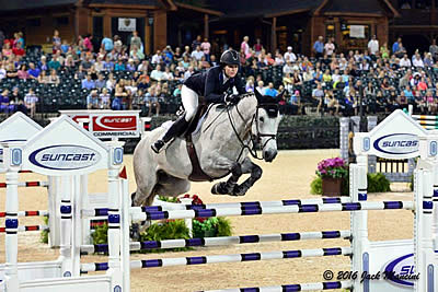 Hunter Holloway Steals the Show at Tryon Spring 6 Capturing $75,000 Tryon Resort Grand Prix