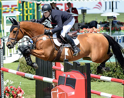 CP Grand Prix Victory Goes to Peter Lutz and Robin de Ponthual at Spruce Meadows 'Continental'